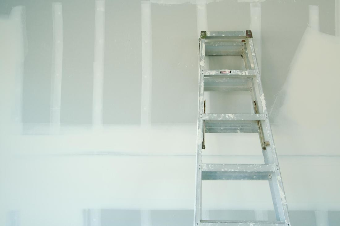 This is a picture of a drywall repair.
